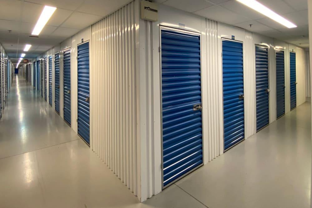 Indoor units at Superior Self Storage in Sacramento, California