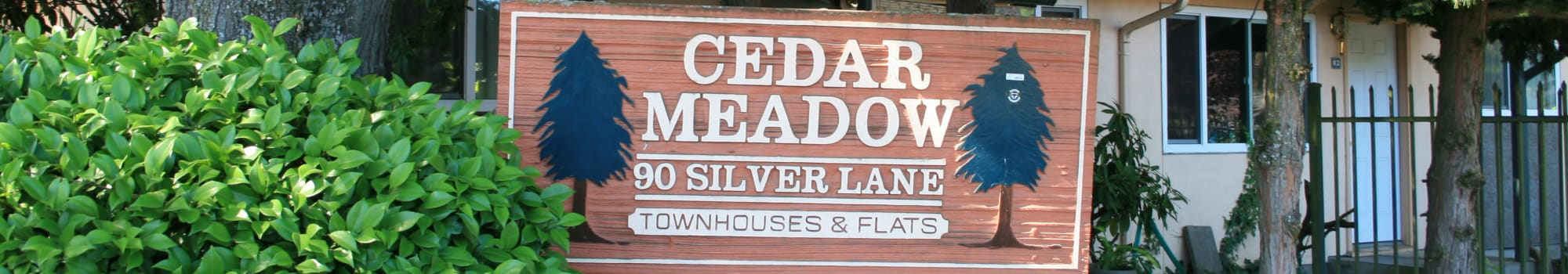 Floor plans at Cedar Meadow