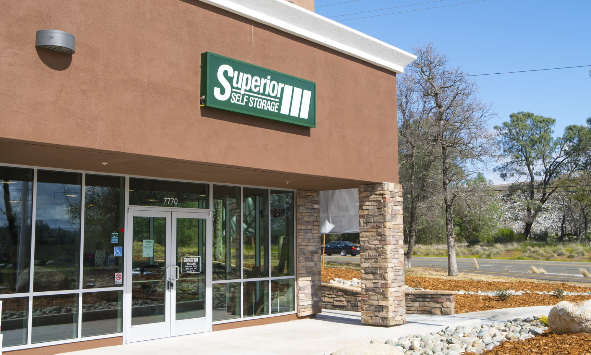 Self storage at Superior Boat, RV & Commercial Self Storage in Folsom, California