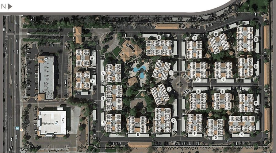 San Marbeya site plan