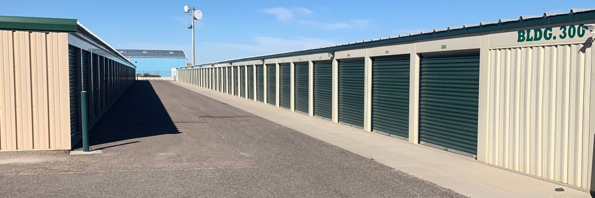 Unit sizes and prices at KO Storage of Casper East in Evansville, Wyoming