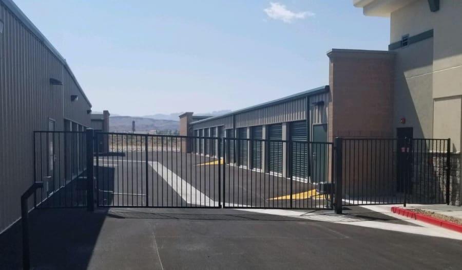 Driveways throughout Towne Storage in Las Vegas, NV