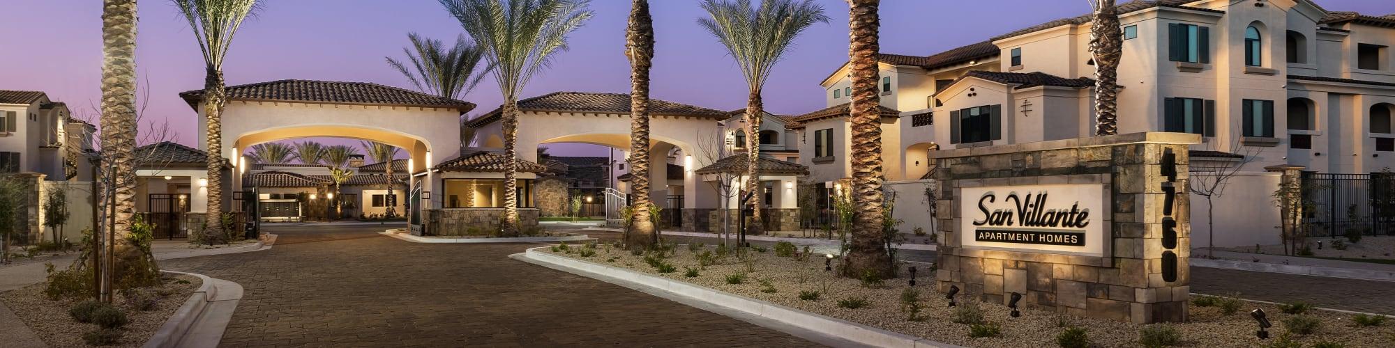 Contact us at San Villante in Mesa, Arizona