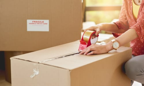Moving supplies available at A-1 Self Storage in San Jose, California