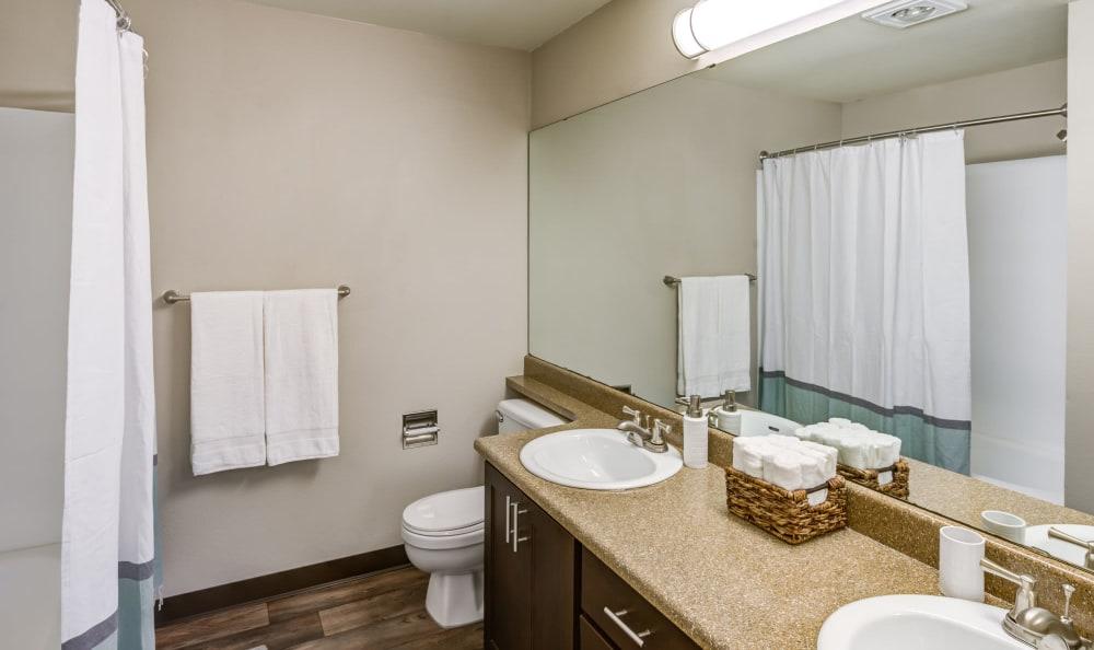 Bathroom at Olin Fields Apartments