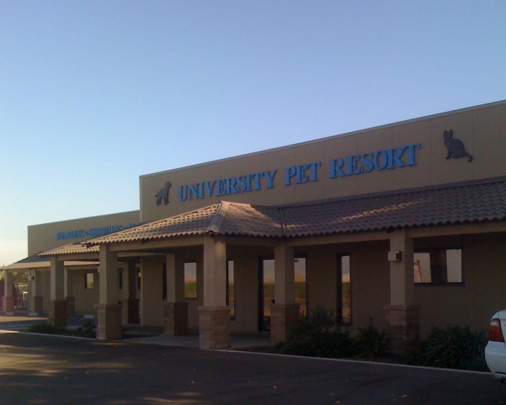 Exterior at University Pet Resort in Merced, California