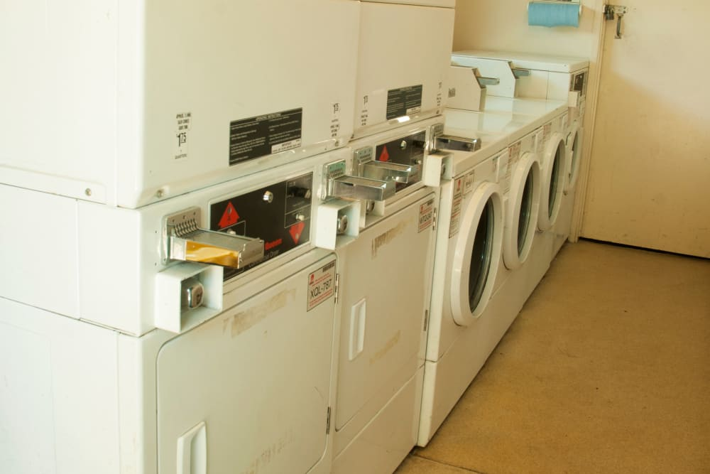 Laundry facility at apartments in Antioch, California