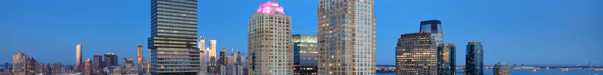 Pet friendly apartments at Trump Bay Street in Jersey City, New Jersey