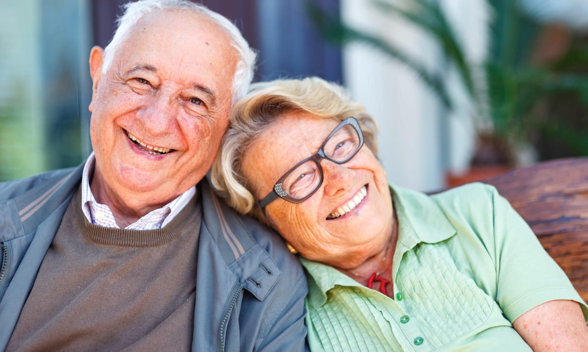 Seniors enjoying The Villas by Regency Park in Pasadena, California