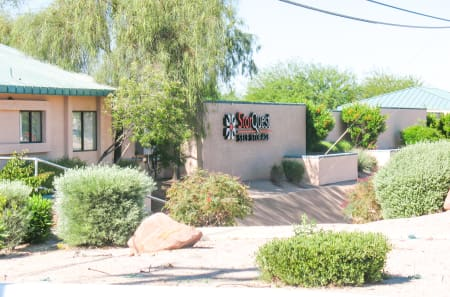 Self storage building exterior in Apache Junction