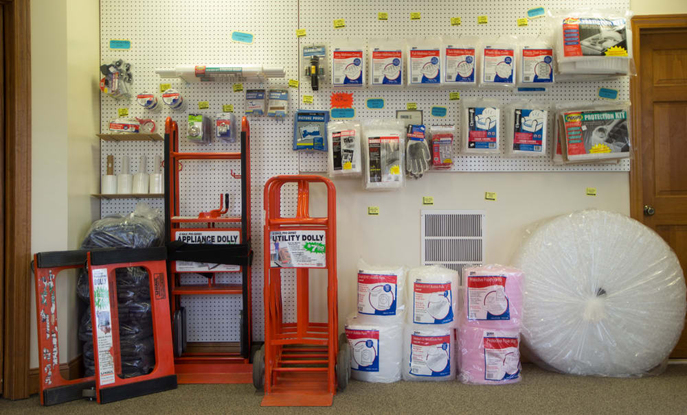 Moving and packing supplies at Capital Self Storage in Liberty, New York