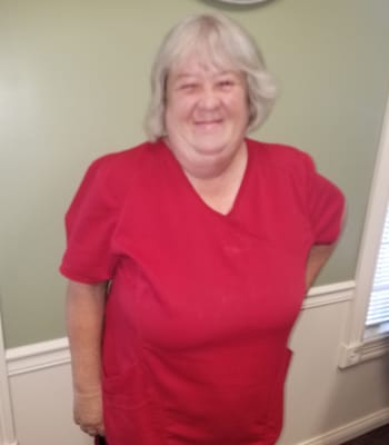 Debbie Cairns, Housekeeping Supervisor at Garden Place Columbia in Columbia, Illinois.