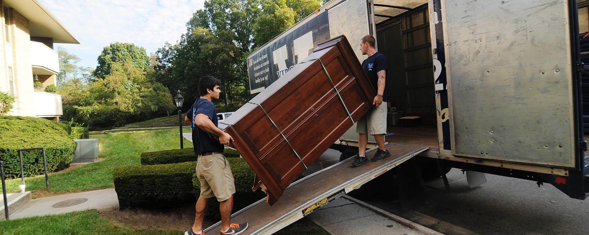 Residential moving services from Virginia Varsity Transfer in Salem, Virginia