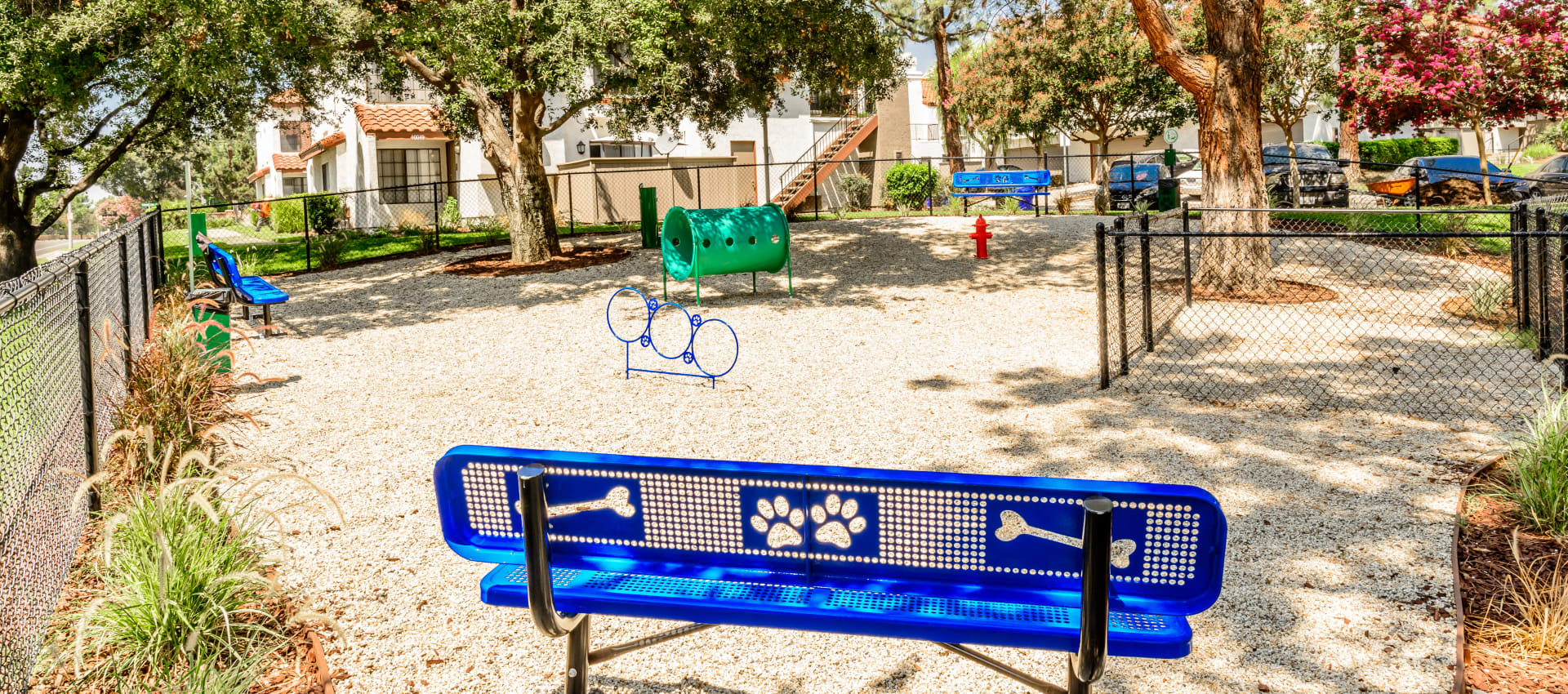 Dog park at Sonora at Alta Loma in Alta Loma, California