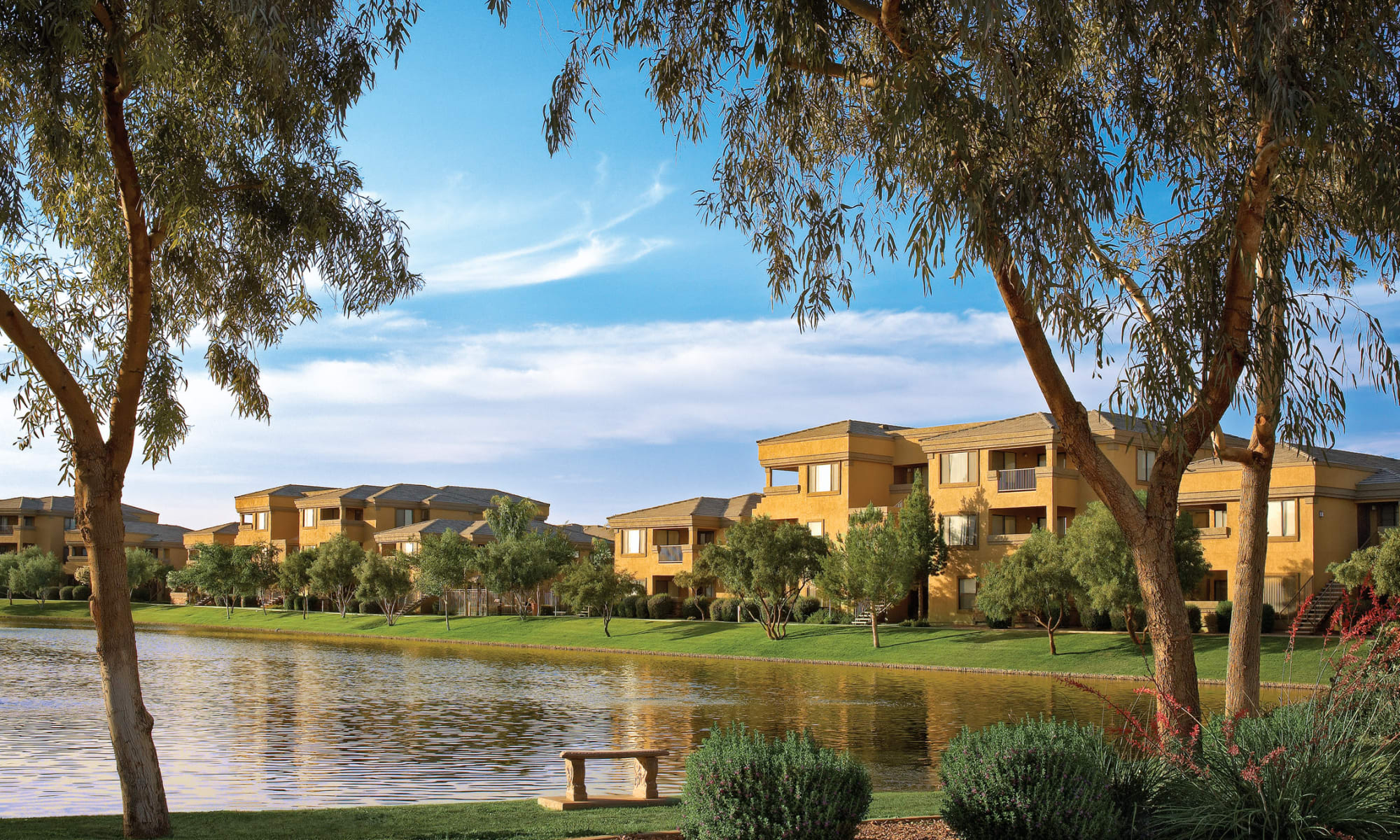 Waterside at Ocotillo apartments in Chandler, Arizona