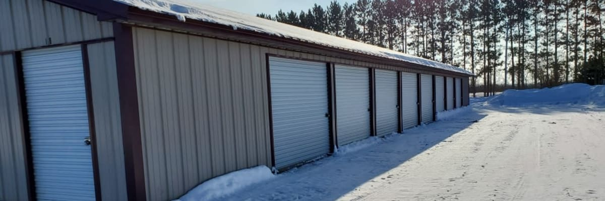 Features at KO Storage of Cass County in Pillager, Minnesota