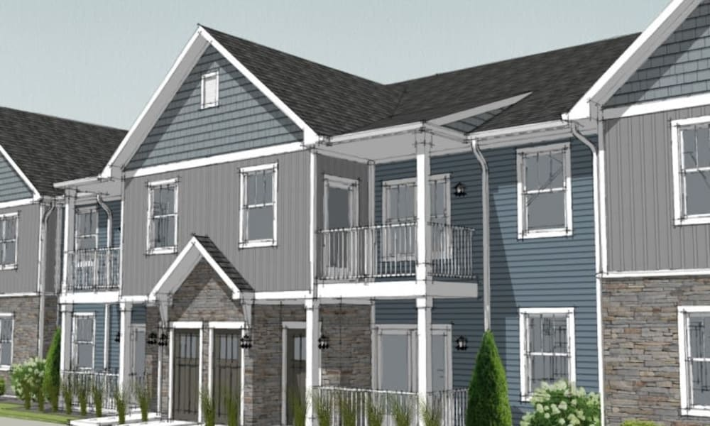 Rendering of apartments at Alexander Pointe Apartments in Maineville, Ohio
