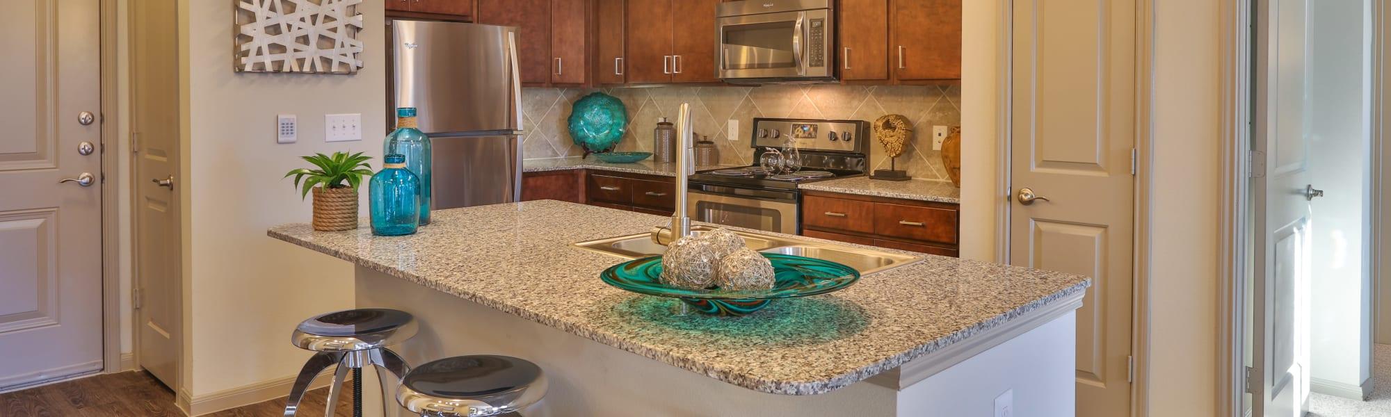 Floor plans at Olympus at Waterside Estates in Richmond, Texas