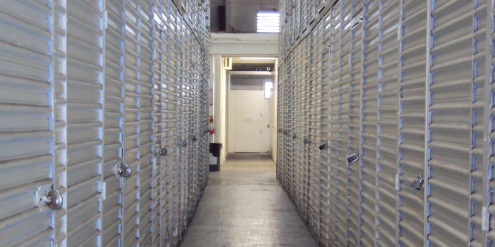 Outdoor storage units at StorQuest Self Storage in Honolulu, Hawaii