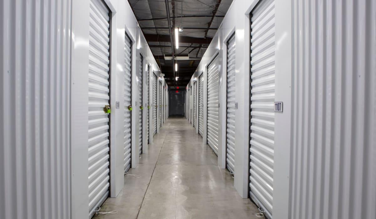 Interior units at Midgard Self Storage in Columbia, SC