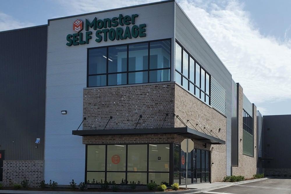 Monster Self Storage in Savannah, GA