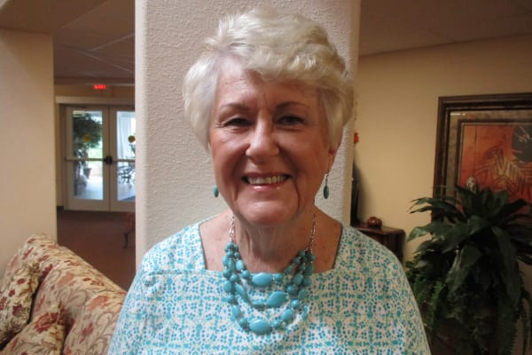 Barbara Johansen at Salishan Gracious Retirement Living in Spring Hill, Florida