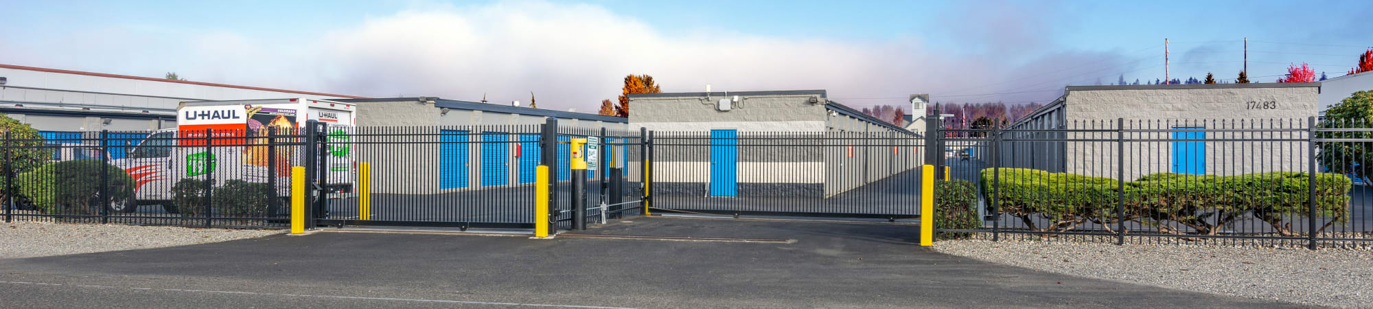 Glacier West Self Storage size guide for units for rent in Monroe, Washington
