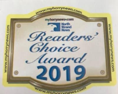 Readers Choice Award image