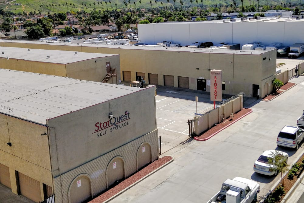 Exterior at StorQuest Self Storage in Riverside, CA