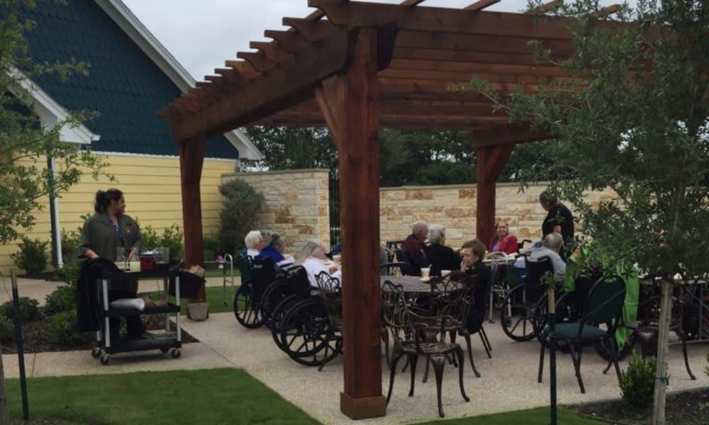 Outdoor event at Quail Park of Granbury in Granbury, Texas