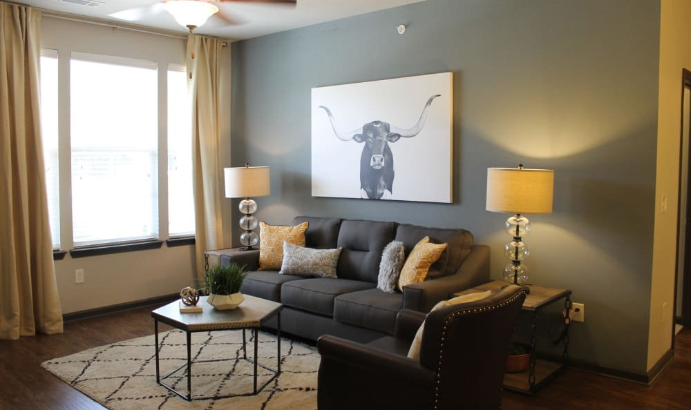 Spacious Living Room Area at Springs at Lakeline