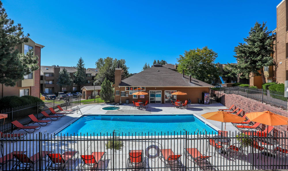 Pool at Silver Reef Apartments in Lakewood, CO