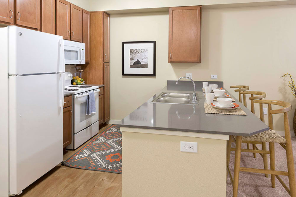 Kitchen at Affinity at Billings