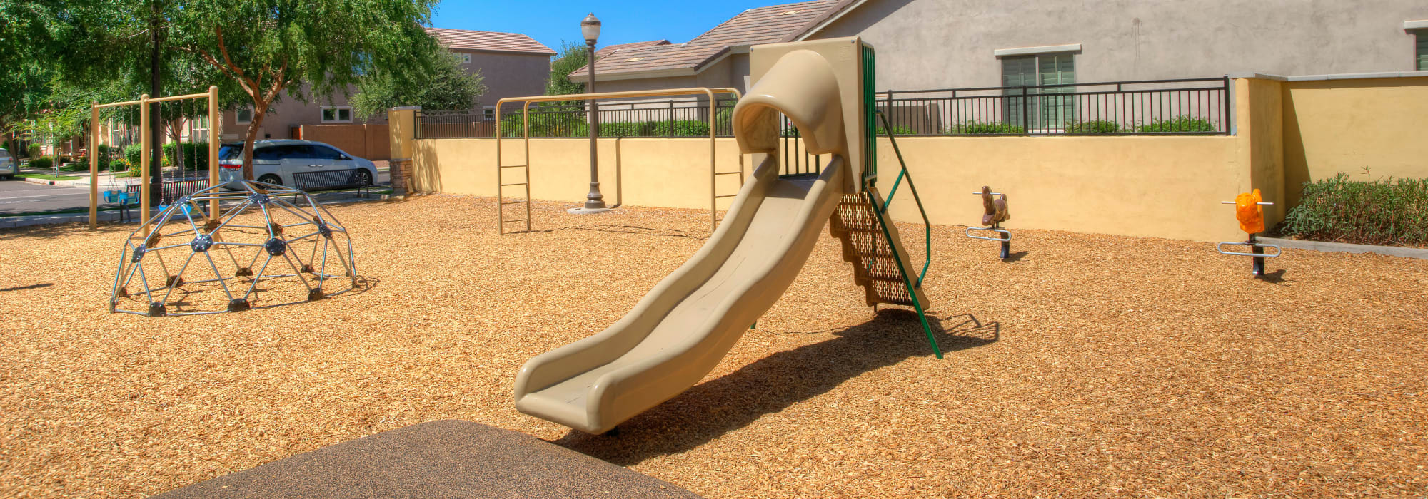 Children's playground at BB Living at Higley Park in Gilbert, Arizona