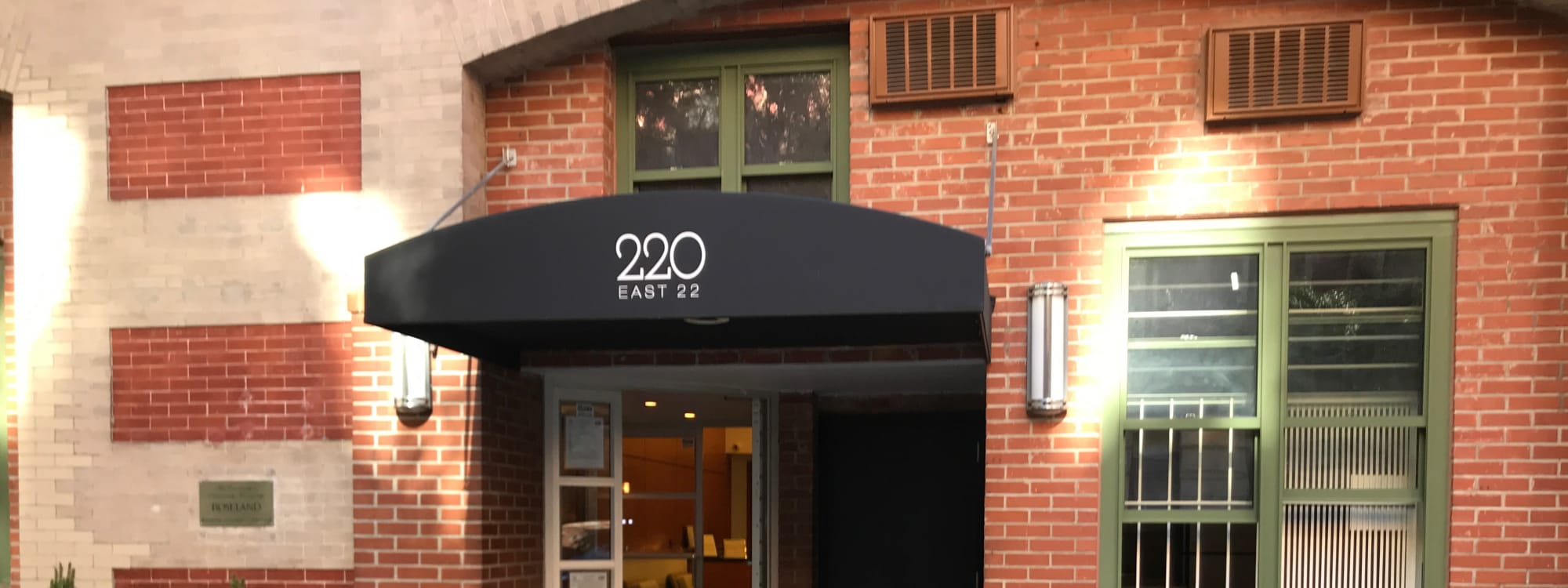 Schedule a tour at 210-220 E. 22nd Street in New York, New York
