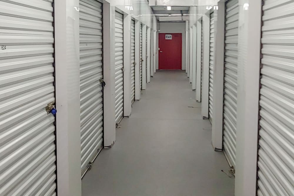 Interior units at StorQuest Self Storage in Bradenton, FL