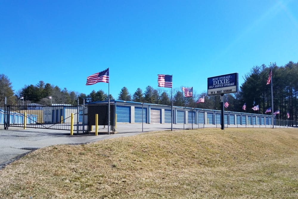 Signage And Exterior Of Storage Units At Monster Self Storage In Asheville,  North Carolina ...