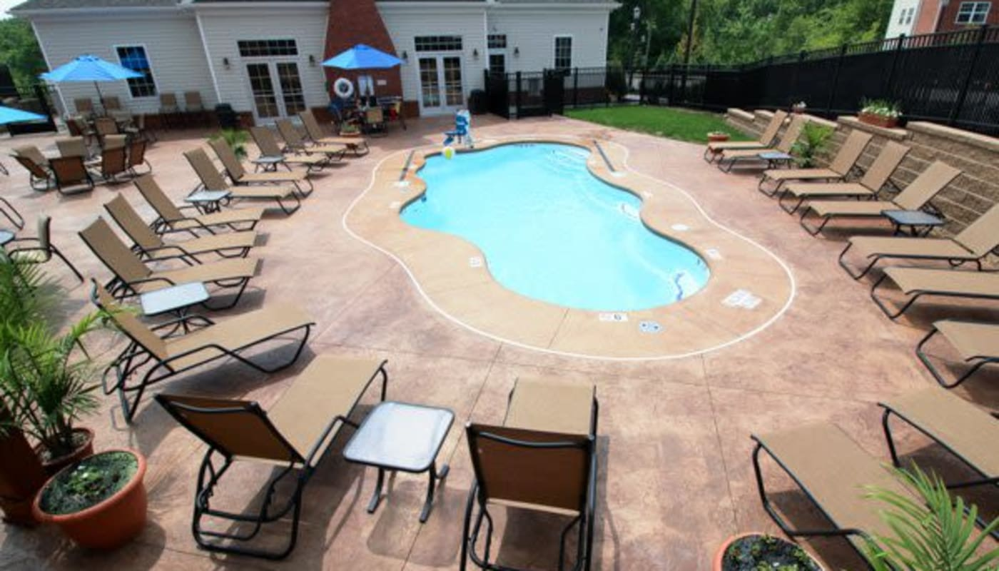 Elegant pool at Torrente Apartment Homes in Upper St Clair, Pennsylvania