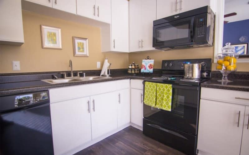 Enjoy a fully-equipped kitchen at Metro 5514 in Houston, Texas
