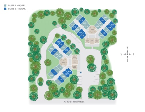 Discovery Commons At Bradenton in Bradenton, Florida site plan