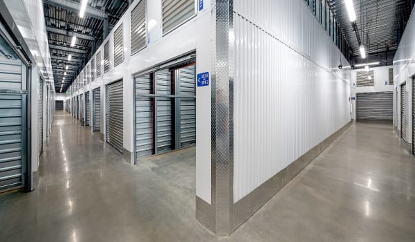 Interior units at Security Self-Storage