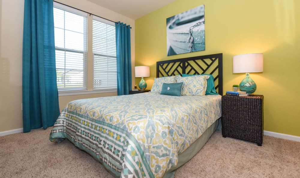 Guest bedroom at Springs at Port Charlotte in Port Charlotte