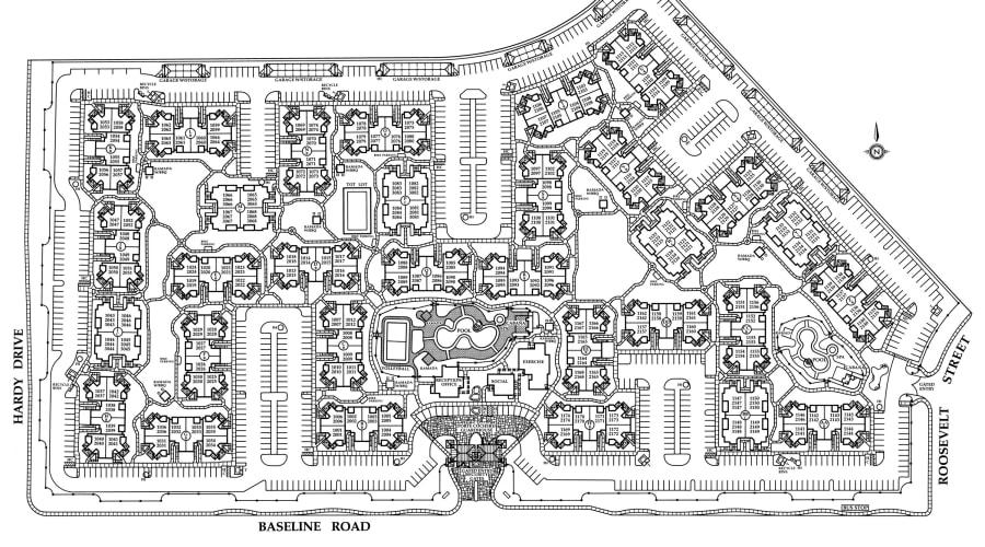 San Palmilla site plan