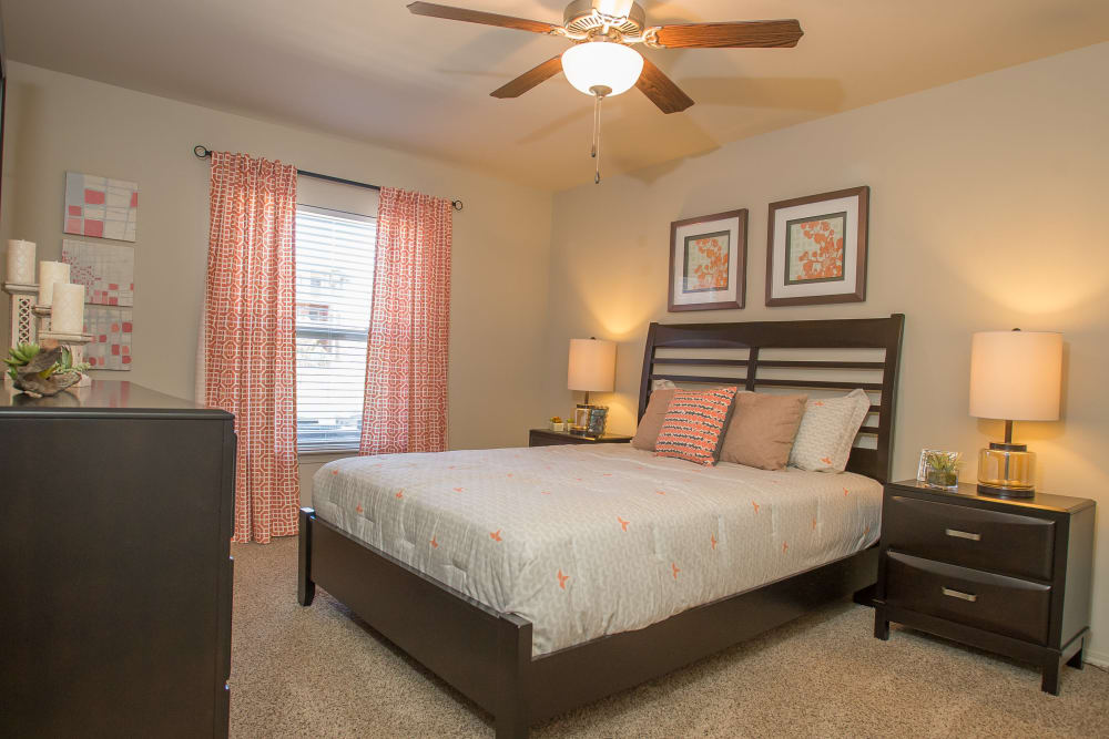 Bedroom at The Reserve at Elm in Jenks, Oklahoma