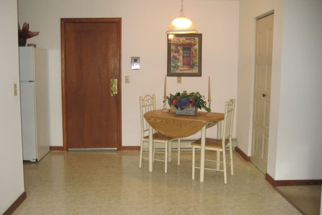 Apartment interior of Security Manor in Westfield, MA