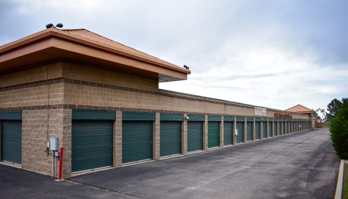 The exterior of STOR-N-LOCK Self Storage in Littleton, Colorado