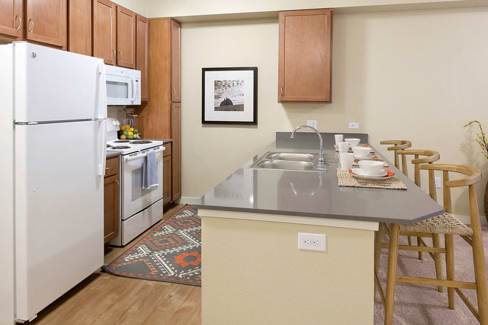 Kitchen at Affinity at Southridge