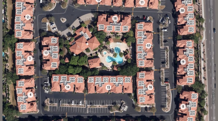 San Prado site plan