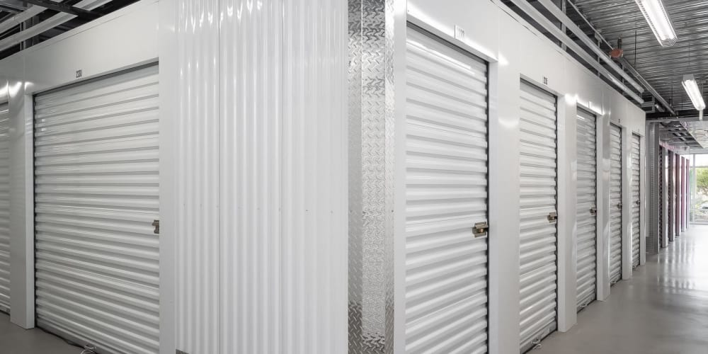 Indoor climate controlled units at StorQuest Express - Self Service Storage in Sacramento, California