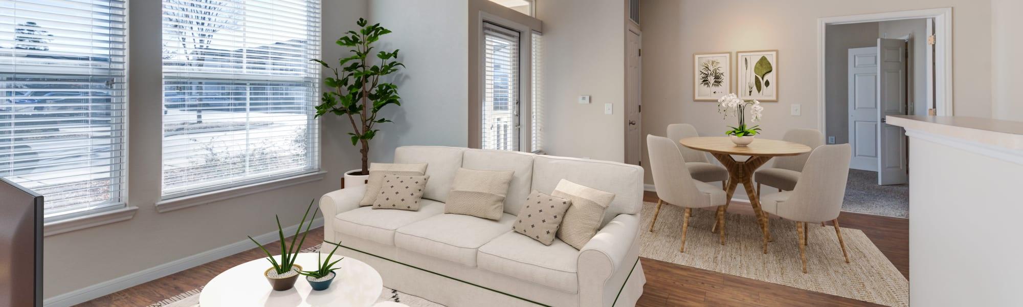 Floor plans at Ingleside Apartments in North Charleston, South Carolina